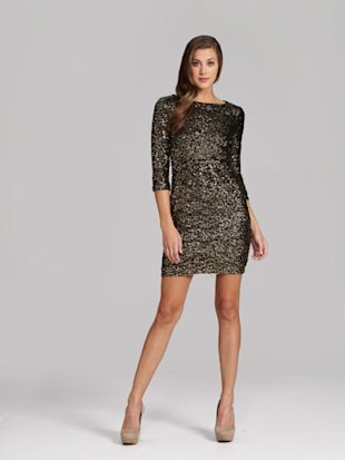 Long Sleeve Sequin Dress on Step One To Being The Life Of The Party Is Looking The Part  These