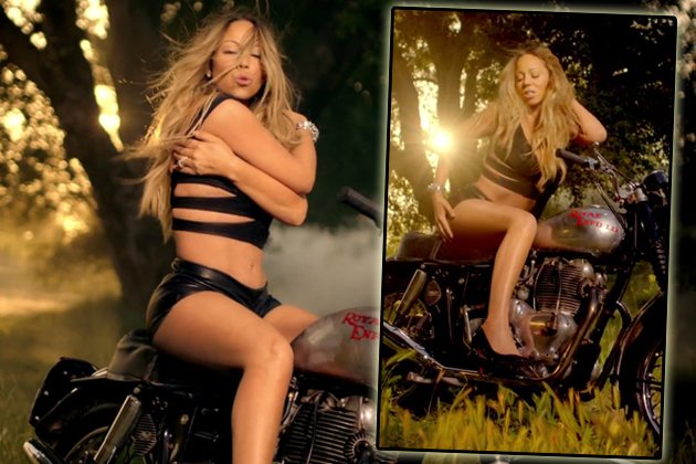Mariah Carey im Video zu ihrer neuen Single &quot;Beautiful&quot; (Bilder: ddp)