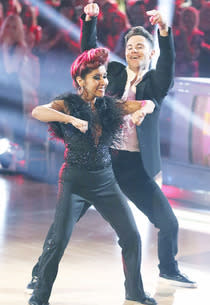 "Nicole ""Snooki"" Polizzi and Sasha Farber 