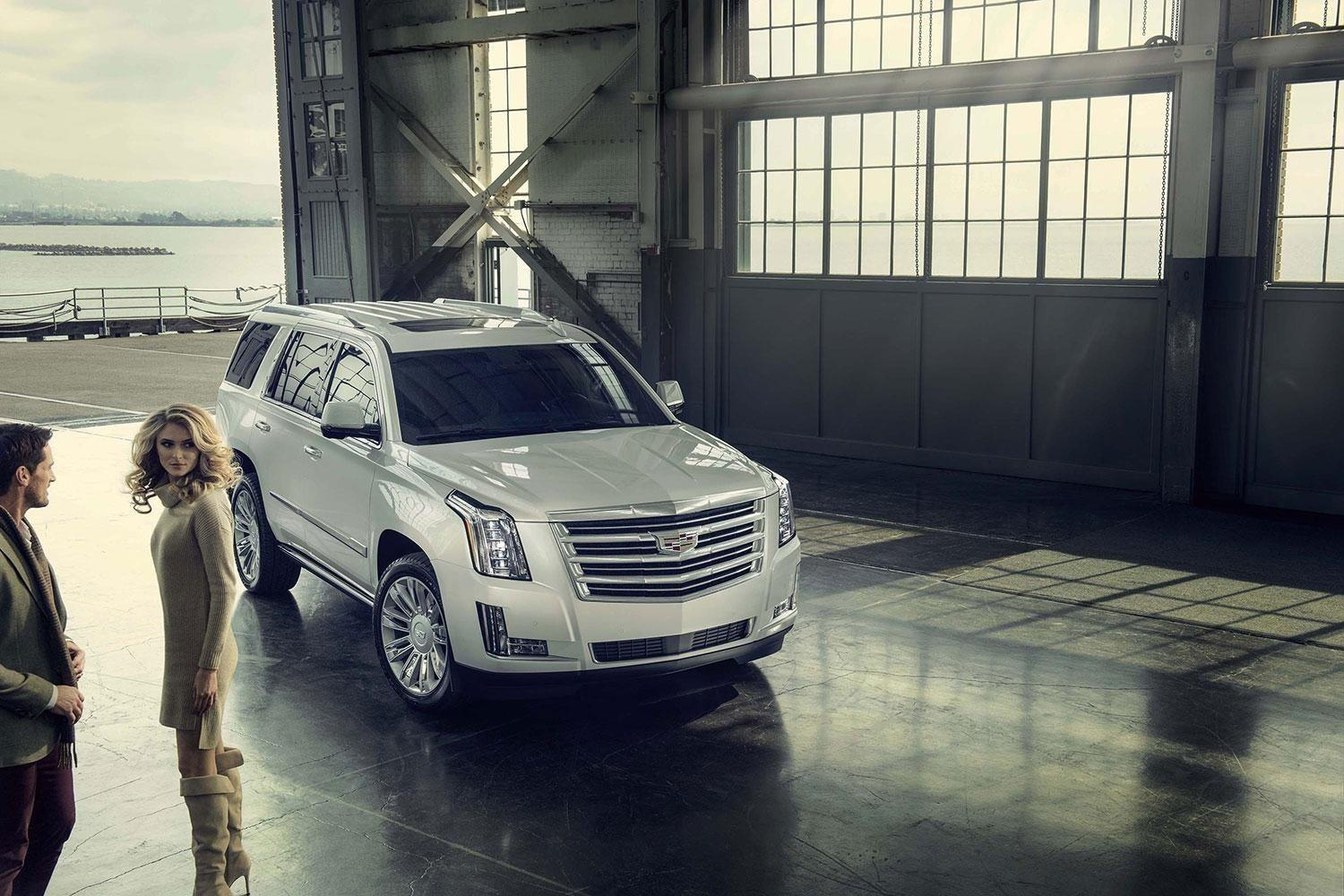Cadillac's Escalade SUV is on a mission to sit atop the luxury ladder