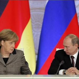 All Eyes On Germany's Merkel In Ukraine Storm