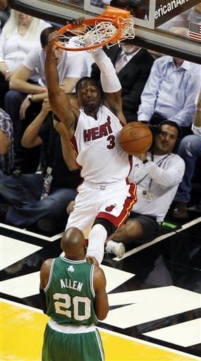 Celtics take control of East, beat Heat 94-90