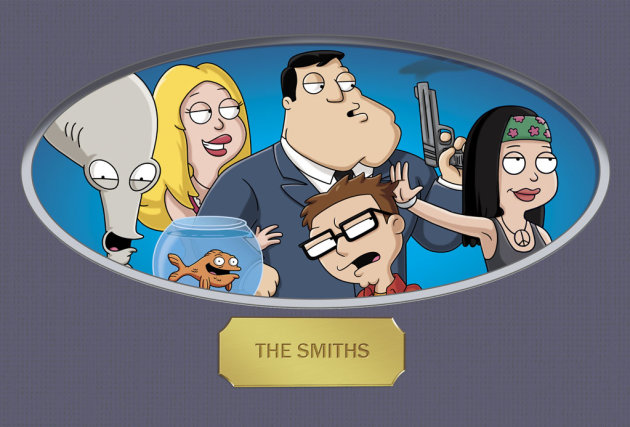 "The cast of ""American Dad."""