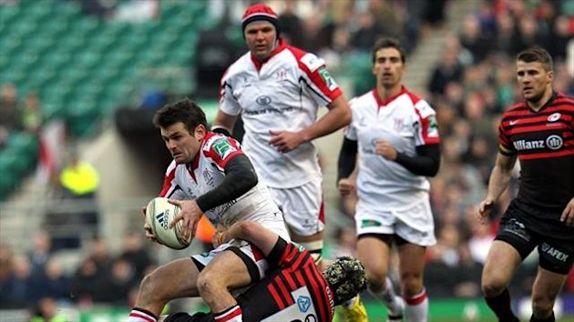 Jared Payne scored the only try in Ulster's 13-6 win over Zebre.