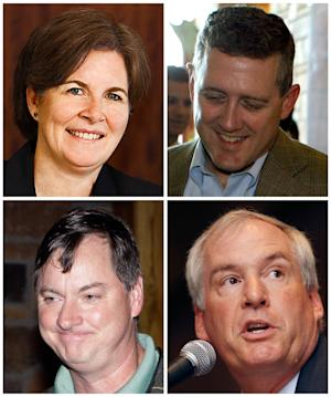 The 4 new voting members on Fed's policy committee