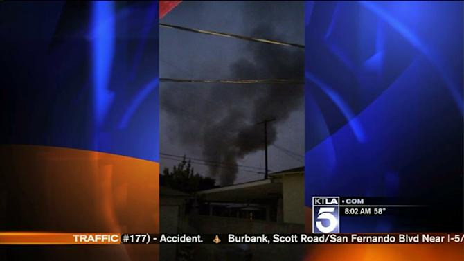 1 Dead in Fire at South El Monte Tire Shop; Firefighter Sustains Facial Burns in Rescue Attempt