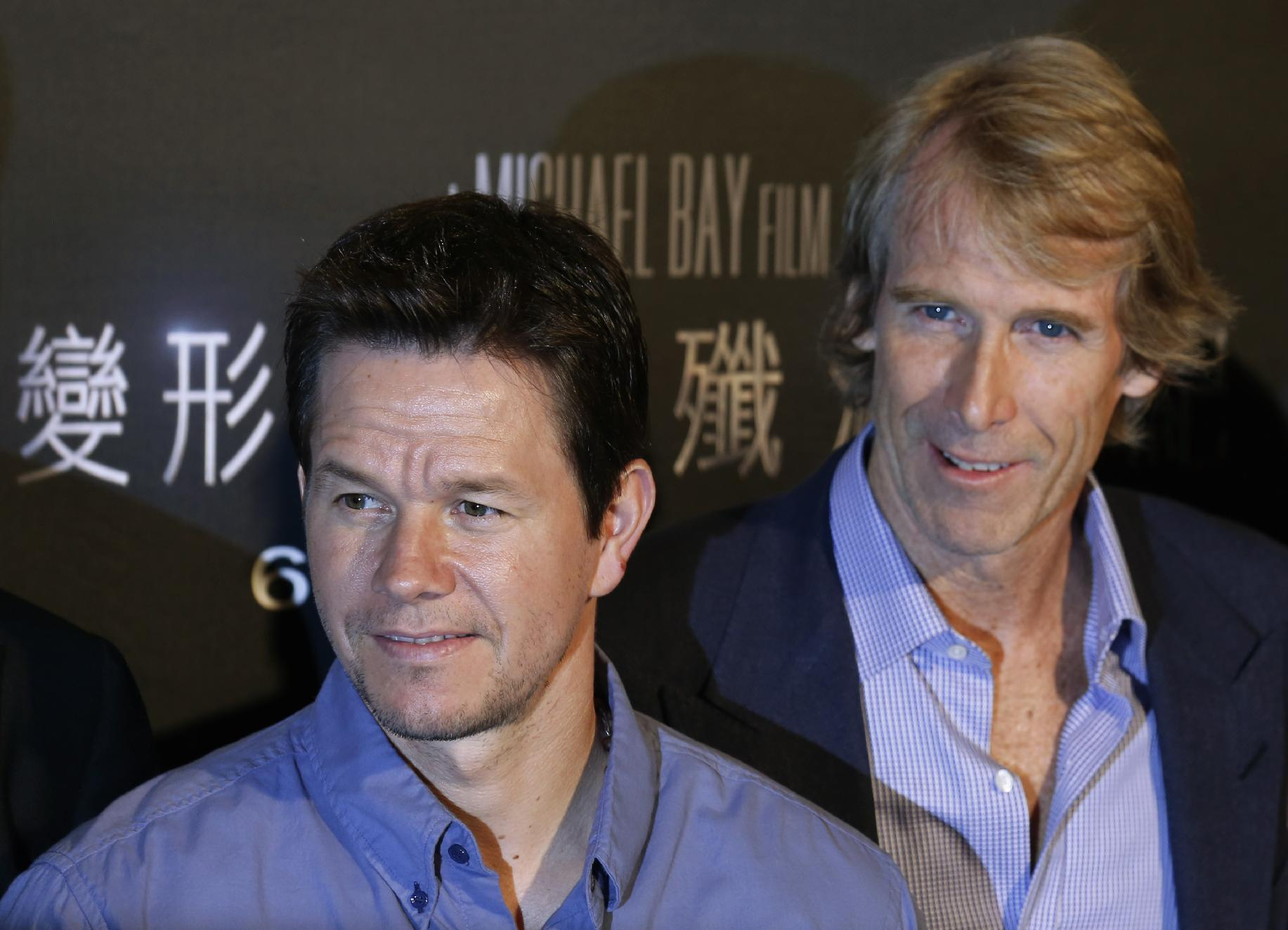 Wahlberg and Bay reunite for pre-Super Bowl charity event