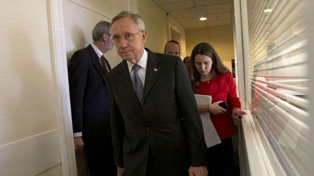 Reid: We're Headed Over the Fiscal Cliff