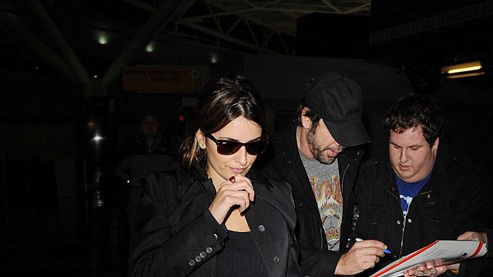 Cruz Bardem JFK Airport