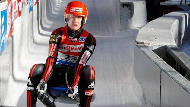 Luge - Geisenberger plays down Sochi favourites tag despite another win