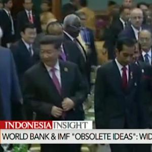 China, Indonesia Call for New Order