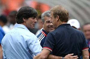 Germany boss Low excited by Klinsmann clash