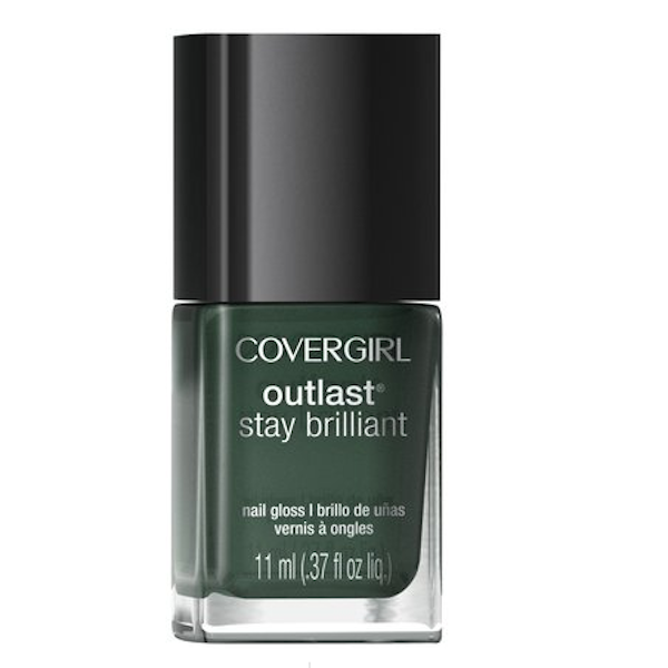 COVERGIRL's Outlast Stay Brilliant Nail Gloss in Midnight Magic, $5, soap.com