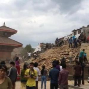 Massive earthquake devastates in Nepal