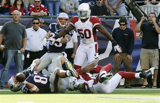 Cards hold on to beat Pats 20-18 after missed FG