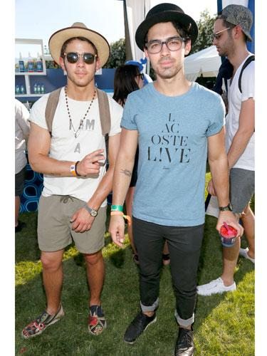 Nick and Joe Jonas
