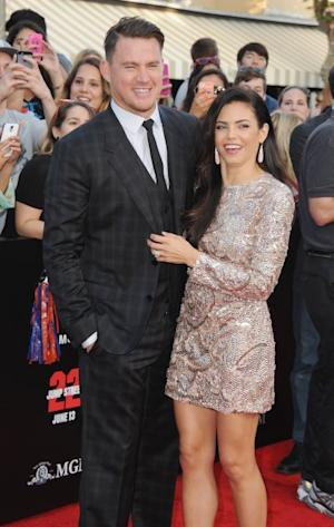 Channing Tatum and Jenna Dewan-Tatum arrive at the Los Angeles Premiere '22 Jump Street' at Regency Village Theatre on June 10, 2014 in Westwood, Calif. -- Getty Images