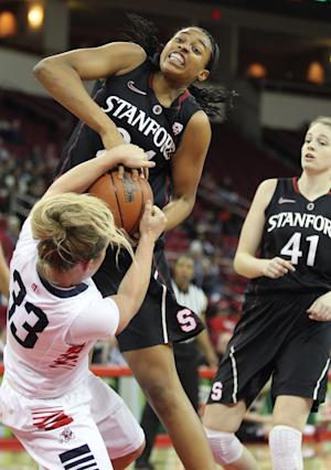 Ogwumike leads Stanford women to rout of Fresno St