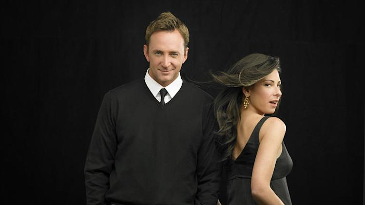 "Clinton Kelly and Stacy London on ""What Not To Wear."""
