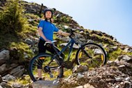 cycling woman offroad