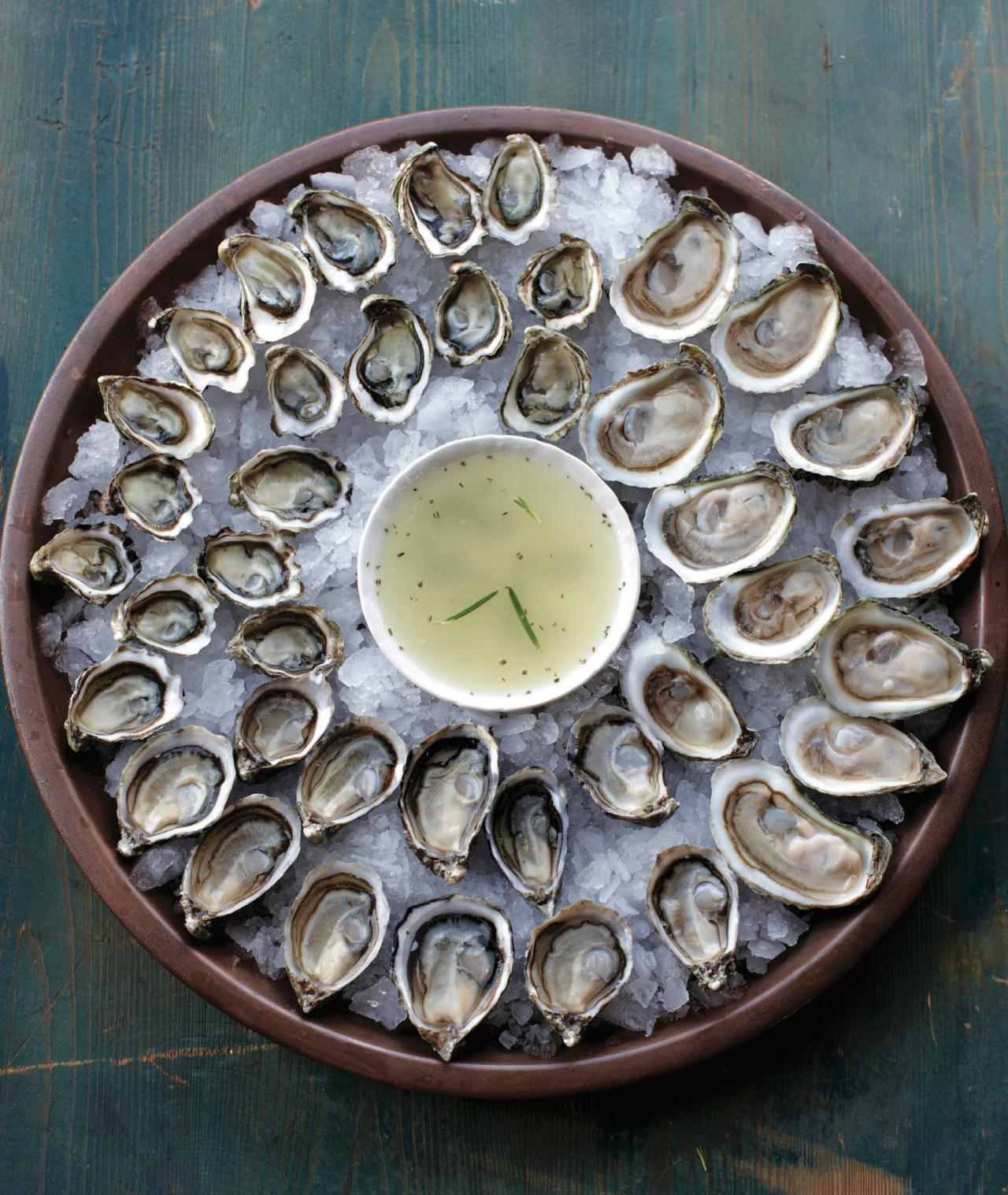 Lemon-Rosemary Mignonette from 'Oysters'