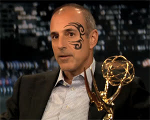 Matt Lauer's Mike Tyson tattoo