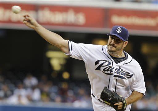 Richard, Guzman lift Padres to 17-inning victory