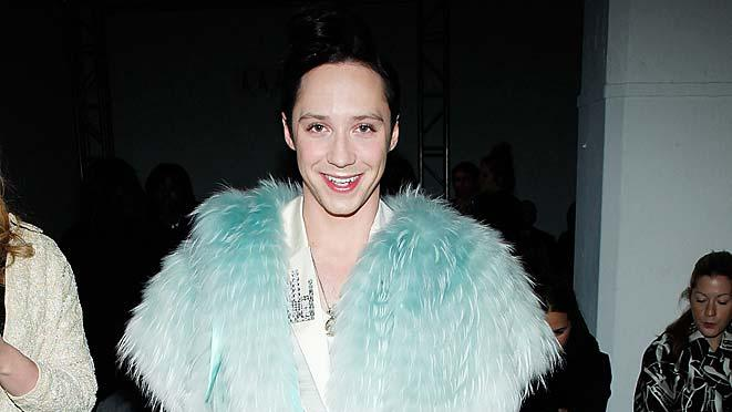 Johnny Weir NY Fashion Week