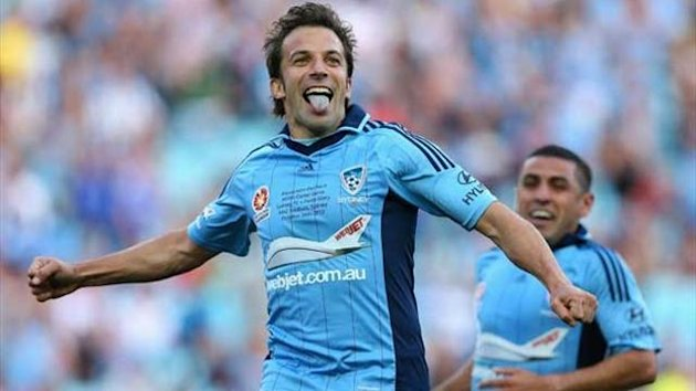 2012-13 A-League Sydney Fc, Alessandro Del Piero