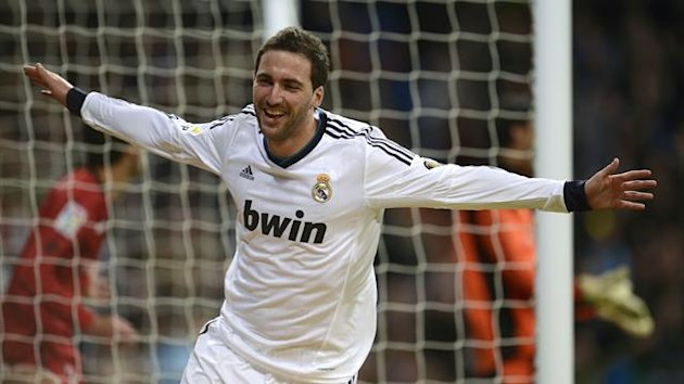 Gonzalo Higuain Real Madrid 2012-2013