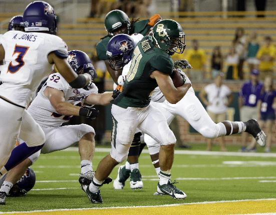 Ineligible Baylor RB Silas Nacita admits to breaking rules, apologizes