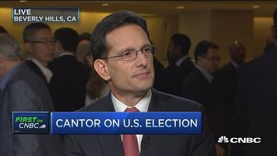 Donald Trump has changed the rules of the game: Eric Cantor
