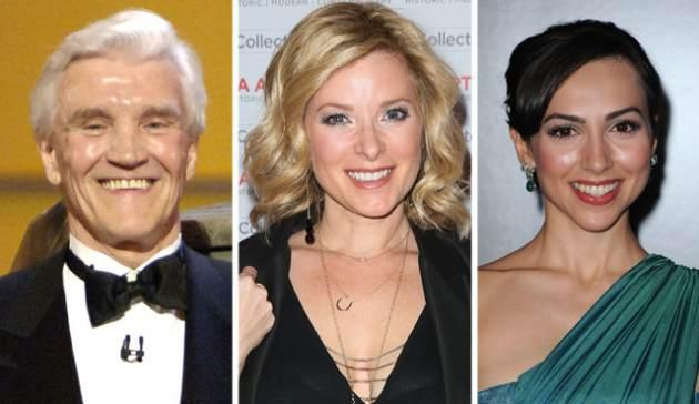 David Canary, Cady McClain and Eden Riegel  -- Getty Images