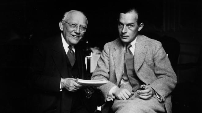 Carl Laemmle (left), president of Universal Pictures, released a heavily edited version of Erich Maria Remarque's (right) All Quiet On The Western Front.