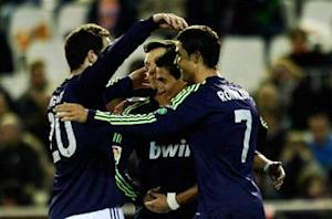 Valencia 1-1 Real Madrid (Agg 1-3): Blancos finish wth nine men but ensure progression to last four