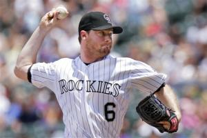 White, Rockies beat Dodgers 3-2