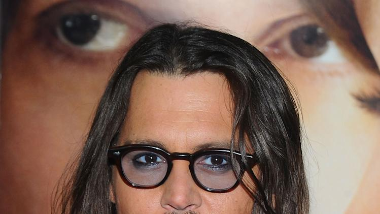 The Tourist 2010 NY Premiere Johnny Depp
