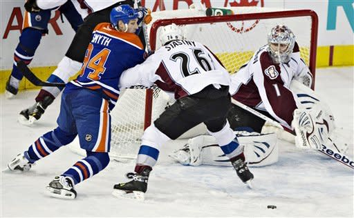 Oilers get 4 PP goals , beat Avalanche 4-1