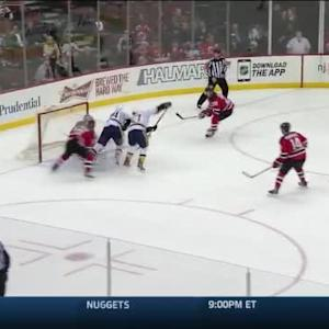 Cory Schneider Save on Eric Nystrom (19:59/1st)