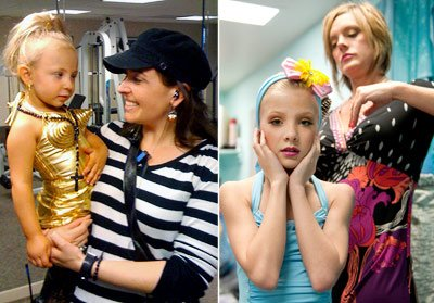 Are pageant moms or dance moms more awful? (Hillary Kurtz/TLC, Scott Gries/Lifetime Television)