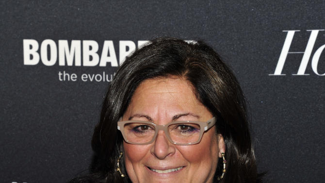 Fern Mallis seen on the red carpet for The Hollywood Reporter Celebrates the 35 Most Powerful People in Media, on April 10th, 2013, in New York. (Photo by Charles Sykes/Invision for The Hollywood Reporter/AP Images)