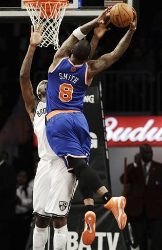 Nets take 1st Brooklyn matchup with Knicks in OT