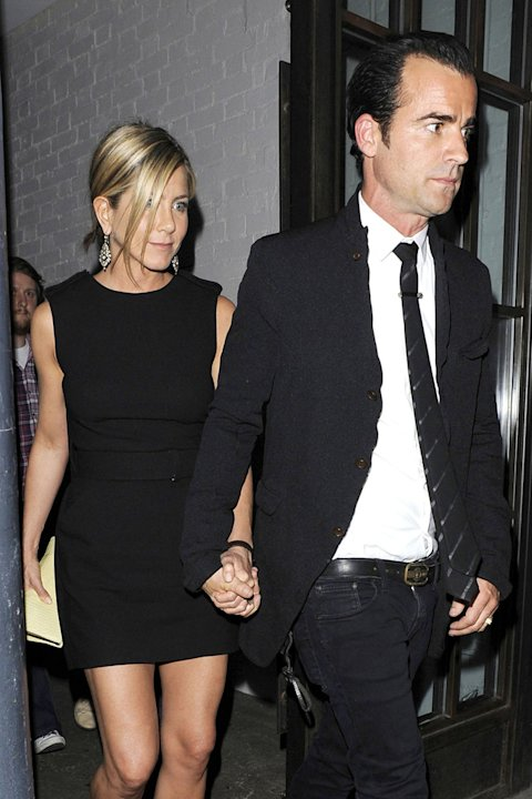 Theroux Aniston london