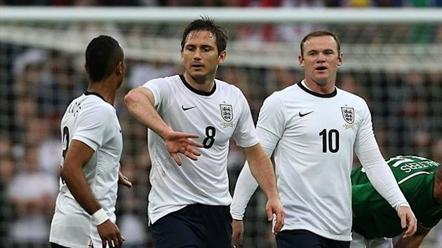 Frank Lampard is set to win his 97th England cap against Brazil this weekend