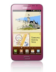 Pink Samsung Galaxy Note arrives in Singapore on Saturday