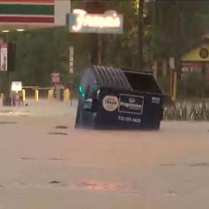 Eye Opener: Deadly flooding swamps Texas