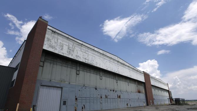 Trying to save part of Rosie the Riveter's factory