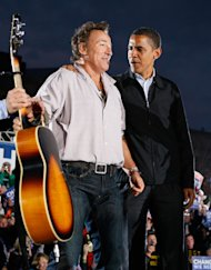 Bruce Springsteen to Hit Campaign Trail for Barack Obama