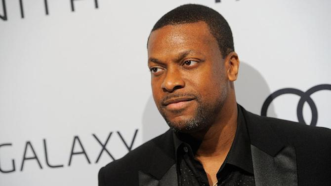 Chris Tucker arrives at The Hollywood Reporter Nominees' Night at Spago on Monday, Feb. 4, 2013, in Beverly Hills, Calif. (Photo by Chris Pizzello/Invision for The Hollywood Reporter/AP Images)