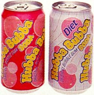 Hubba Hubba Bubble Gum Soda